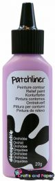 Decopatch patchliner orchidee λιλα