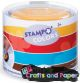 Tαμπον Stampominos colors XL σετ 4xρ. Ar